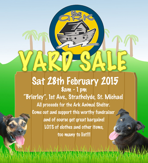 The Ark Yard Sale