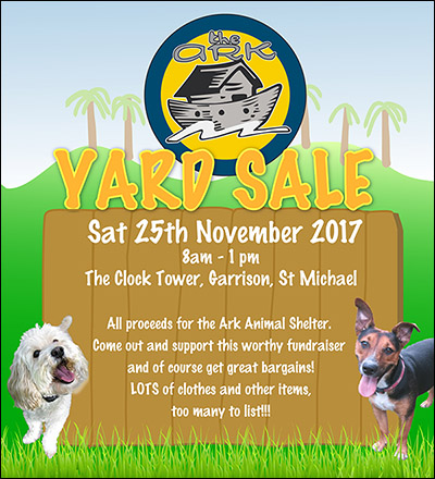 Ark yard sale 2017